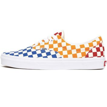 Checkerboard Era Women's Sneakers Multi / True White