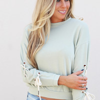 Forever Summer Lightweight Knit {Sage}