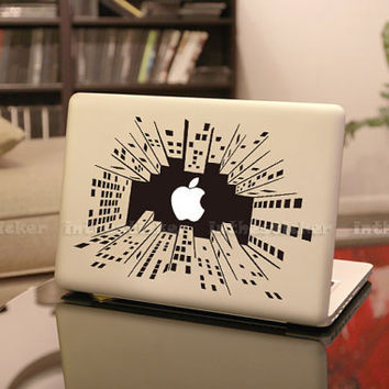 Science fiction  Decal for Macbook Pro, Air or Ipad Stickers Macbook Decals Apple Decal for Macbook Pro / Macbook Air