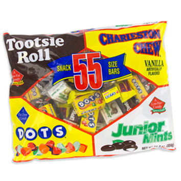 Tootsie Snack Size Candy Assortment: 55-Piece Bag