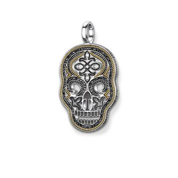 Pendant Skull Mask Yellow Jewelry Necklace Accessories