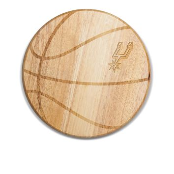 San Antonio Spurs - 'Free Throw' Basketball Cutting Board & Serving Tray by Picnic Time