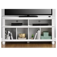 "Woodcrest TV Stand For TVs Up To 55"" - White - Ameriwood Home"