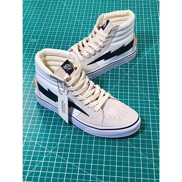 Off White X Revenge X Storm X The Remade X Vans Sk8 Hi Sneakers - Sale