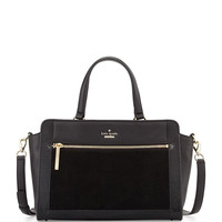 chatham lane harlan satchel bag, black - kate spade new york