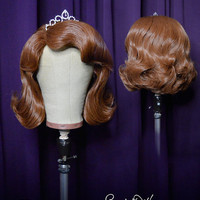 Sofia The First Wig by Fairytale Wigs