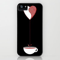 Love Coffee iPhone & iPod Case by DanielBergerDesign
