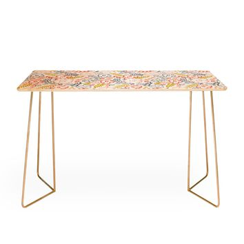 Heather Dutton Floral Brush Desk
