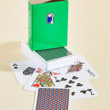 Take Your Pixel Playing Cards | Mod Retro Vintage Toys | ModCloth.com