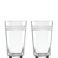 Kate Spade Wickford Highball Set Clear ONE