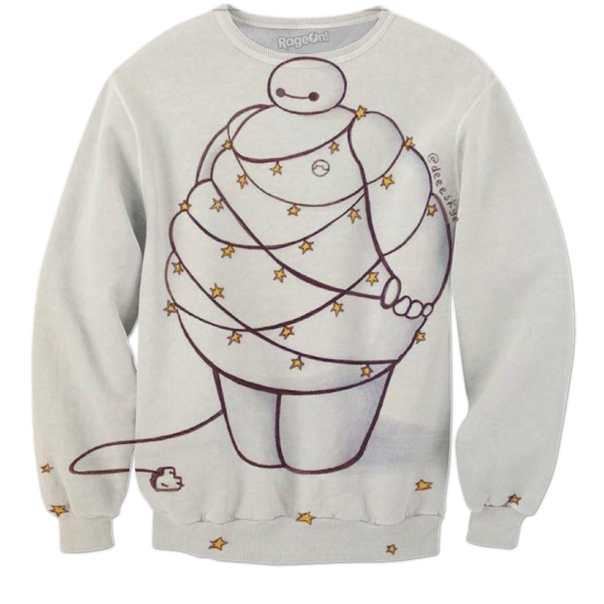 Baymax Christmas Sweater from RageOn! | Clothess