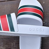 Gucci Woman Fashion Casual Sandals Slipper Shoes
