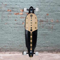 "Bamboo 41"" Directional DT Xibalba Longboard (West) - Complete"