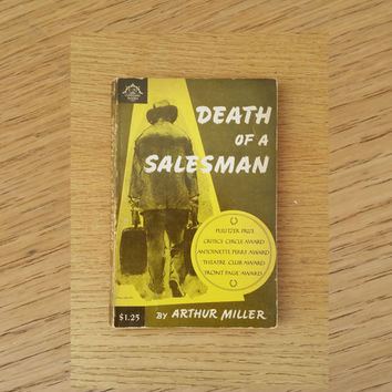 Death of a Salesman by Arthur Miller Vintage Paperback