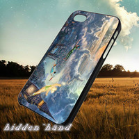 Disney Peterpan Flying,Case,Cell Phone,iPhone 5/5S/5C,iPhone 4/4S,Samsung Galaxy S3,Samsung Galaxy S4,Rubber,13/07/2/Ar