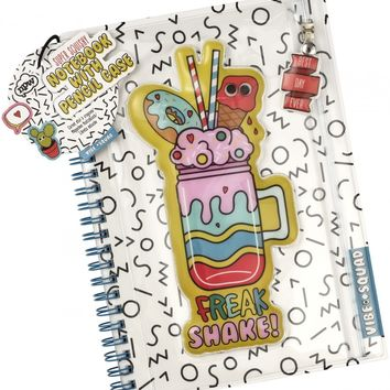 2-in-1 Pencil Case Notebook