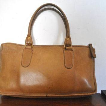 ONETOW COACH Bag / Brown Doctor Speedy Handbag Purse / Bonnie Cashin
