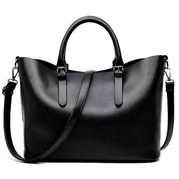 Casual Hobos Messenger Leather Handbag