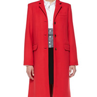 MARC by Marc Jacobs Hiro Long Felt Coat