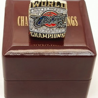 Cleveland Cavaliers 2016 Championship Rings With Wood Box