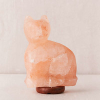 Cat Himalayan Salt Lamp | Urban Outfitters