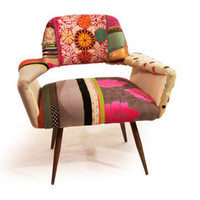 Couture 1 Patchwork Arm Chair