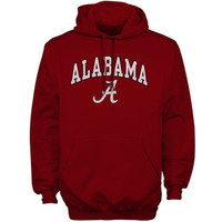 Alabama Crimson Tide New Agenda Midsize Arch Over Logo Hoodie - Cardinal