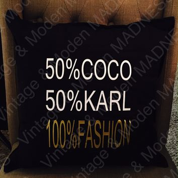 100% Fashion Decor Pillow COVER ONLY
