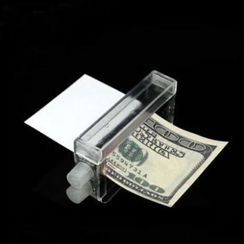 New arrive Funny Toys Magic props Money Printing Machine Close-up magic props   Gags & Practical Jokes toy 1pcs free shipping