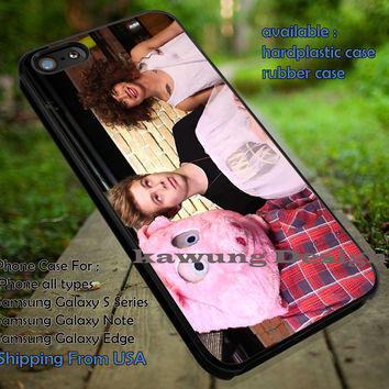 5 Seconds of Summer Live Stream Mikey Clifford Luke Hemmings Calum Hood iPhone 6s 6 6s+ 5c 5s Cases Samsung Galaxy s5 s6 Edge+ NOTE 5 4 3 #music #5sos dt