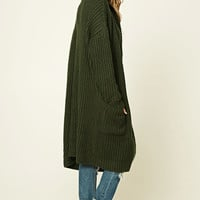 Longline Sweater Cardigan