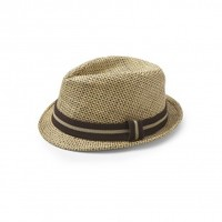 Liv and Lily Straw Fedora