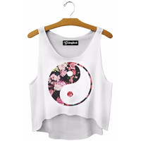 Ying and Yang Crop Top