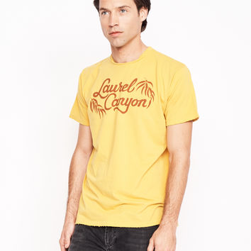 Laurel Canyon Men's Crew - Mustard