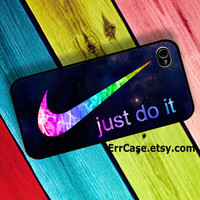 Colorful Nike Just Do It , Nike Case , Just do it Case , Colorful Case , Unique Case : Iphone 4/4s case Iphone 5 case Galaxy S3 case