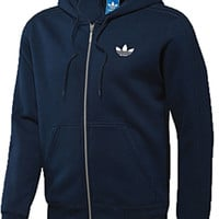 NEW Adidas Originals SPO Hooded Flock Trefoil Top Hoody Mens Size