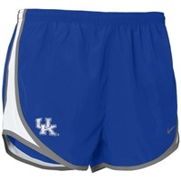 Nike Kentucky Wildcats Royal Blue Ladies Tempo Shorts