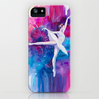 Ballerina iPhone & iPod Case by Slaveika Aladjova