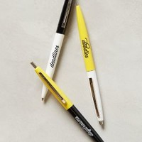 Ballpoint Pen Trio by Anthropologie Yellow Set Of 3 House & Home