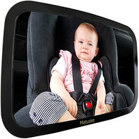 Back Seat Baby Mirror - 54% Off | Perfect View of Rear Facing Car Seat | Extra Large Crystal Clear Reflection | Shatterproof & Lightweight | Great for Baby Shower Gift & Baby Registry