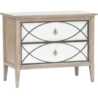Marquesa Mirrored Nightstand