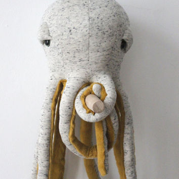 Small Octopus POP <O> Stuffed Animal <O>  Plush Toy