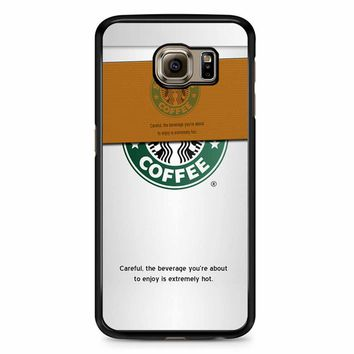 Starbucks Coffee Cup Samsung Galaxy S6 Edge Plus Case