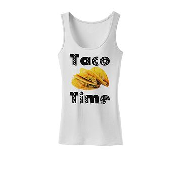Taco Time - Mexican Food Design Womens Tank Top by TooLoud
