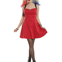 DC Comics Suicide Squad Harley Quinn Red Dress