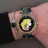 Vintage Barbie Blonde Ponytail Watch by Nostalgic Timepiece  NY 1996