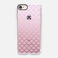 Lavender Diamonds (transparent) iPhone 7 Case by Lisa Argyropoulos | Casetify