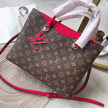 Louis Vuitton LV Fashion Women Shopping Bag Leather Handbag Tote Shoulder Bag Crossbody Satchel