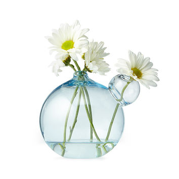 Mini Bubble Vase | Round Glass Flower Vase