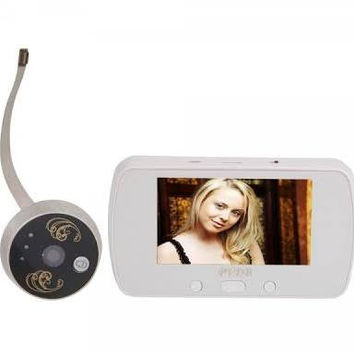 LCD Digital Zoom Peephole Viewer with TF Card Slot